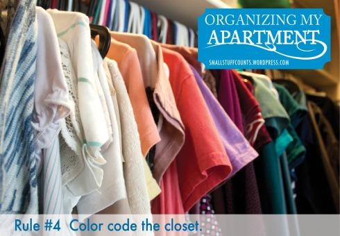Organizing My Apartment via The Small Stuff Counts Blog