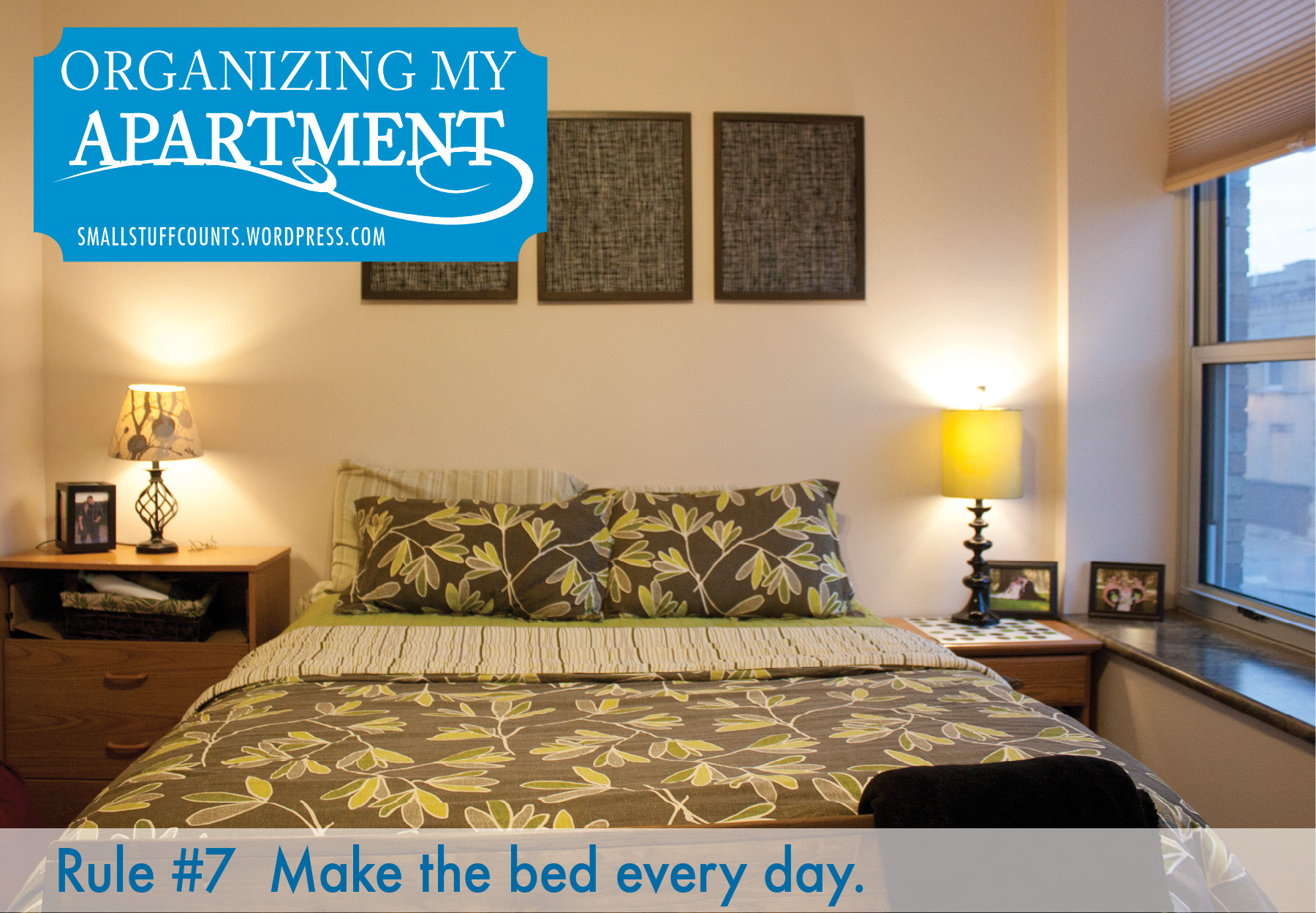 Organizing My Apartment {7 Rules For The Bedroom) - Small ...