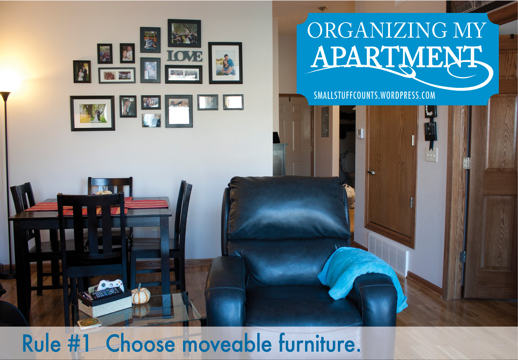 Helpful Tips For Organizing A Small Apartment Via The Stuff Counts Blog