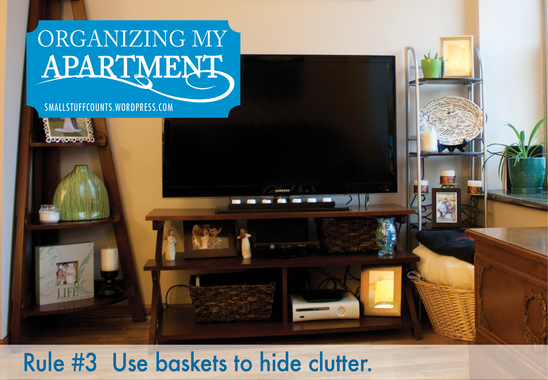 Organizing my apartment 5 rules for a small living room for Living room organization