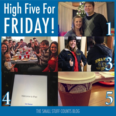 High Five For Friday! via The Small Stuff Counts Blog